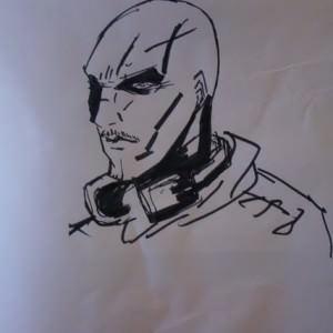 Zeichnung im Club